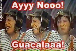 """El Chavo del 8 """"Ay no guacala"""""""