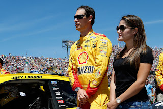 Logano And Brittany