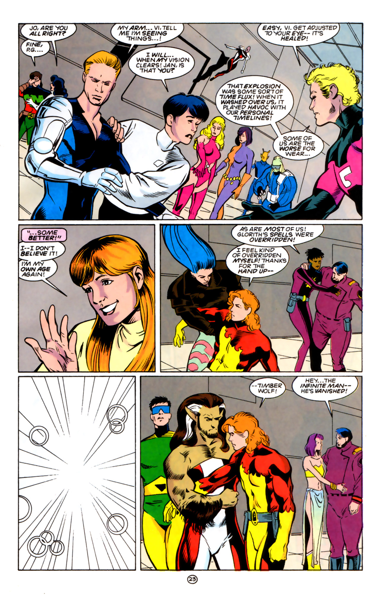 Legion of Super-Heroes (1989) 60 Page 22