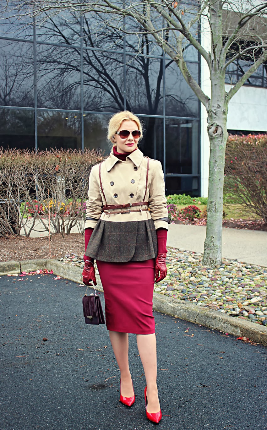 Trench coat for fall