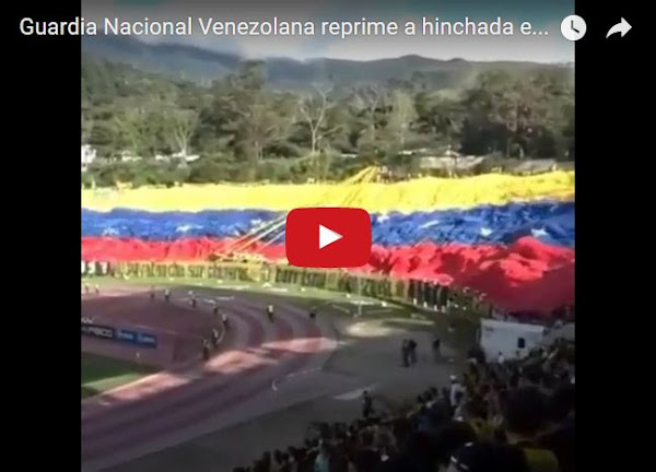 Régimen ataca fanaticada por gritar consignas en Pueblo Nuevo