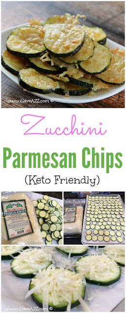 Low Carb Zucchini Parmesan Chips – Keto Friendly Recipe