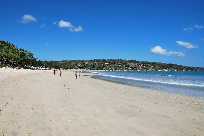 Panorámica de una playa