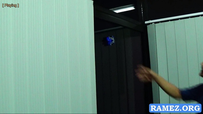 Mobil RC Bisa Menempel Di Dinding