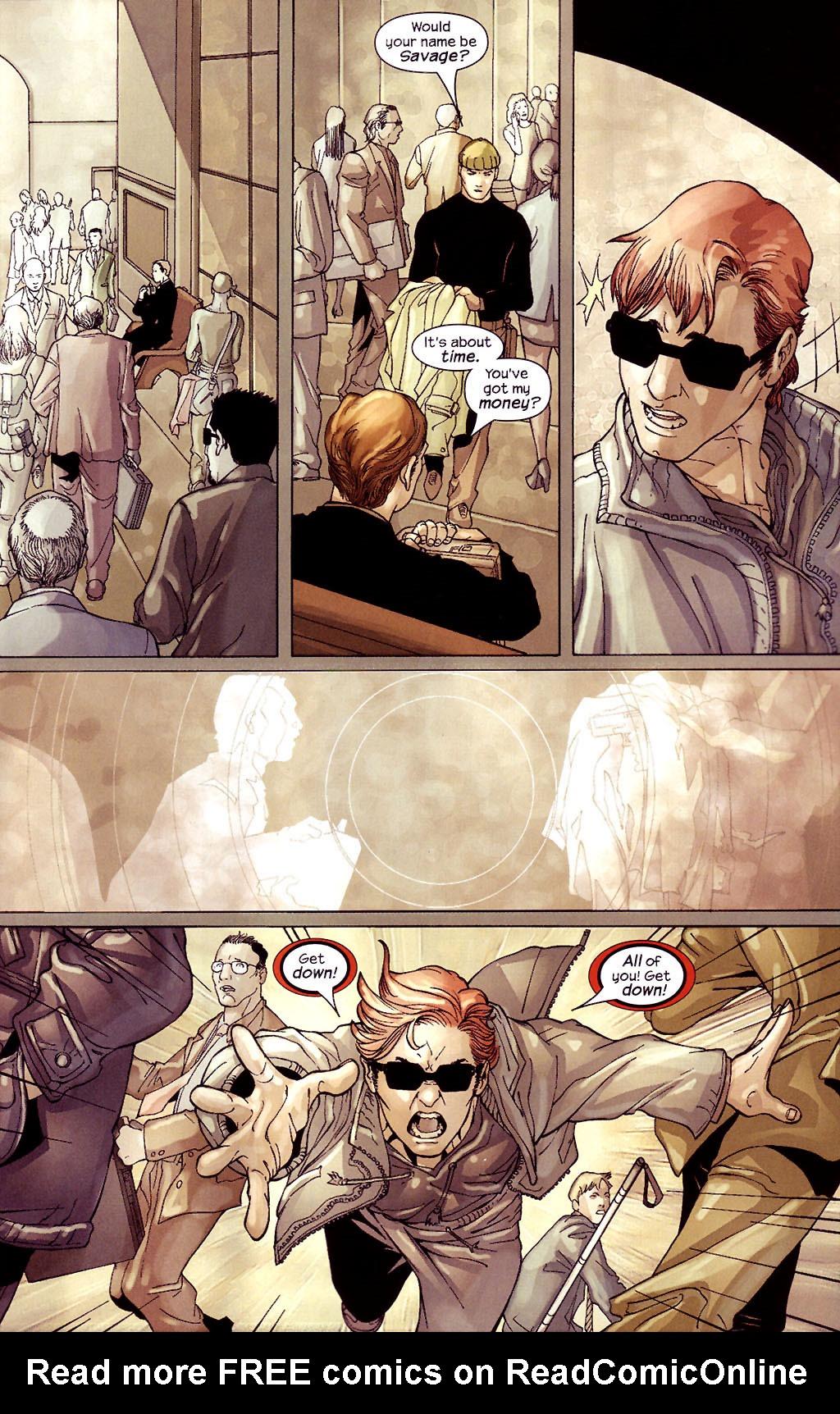 Read online Ultimate Elektra comic -  Issue #4 - 20