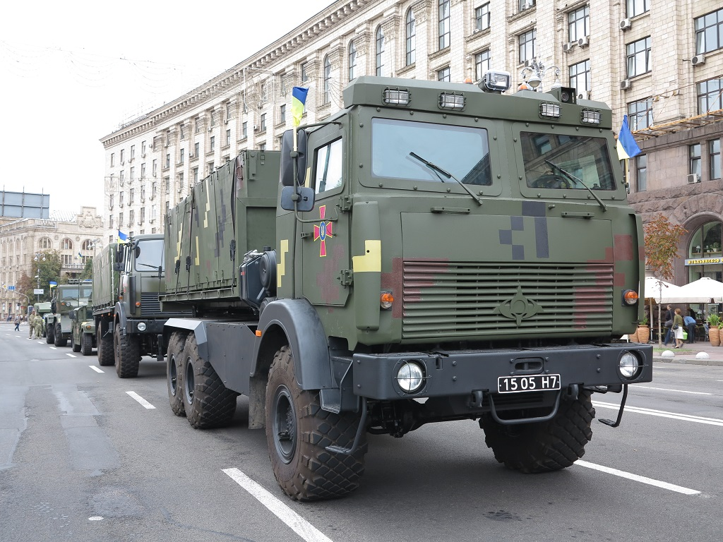 МАЗ-6317 з Hiab Multilift на Ukrainian Military Pages