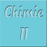 Chimie II