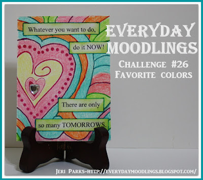 Challenge #26.....Favorite Colors