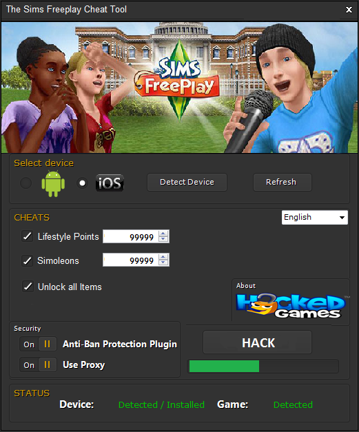 THE SIMS FREEPLAY HACK TOOL CHEATS CODES 2018 FREE DOWNLOAD
