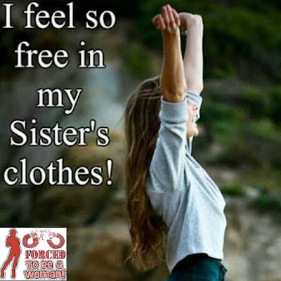 I feel so free Sissy TG Caption - Candi's Place TG Captions - Crossdressing and Sissy Tales and Captioned images