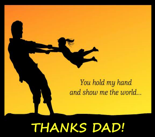 thanks to my hardworking father Thank you dad for everything you have done, your hard work and sacrifice for everyone thanks for everything you continue to do, but most of all thank you just for being you thank you dad for taking time to care, we really appreciate you always being there at those times when we feel we really need.