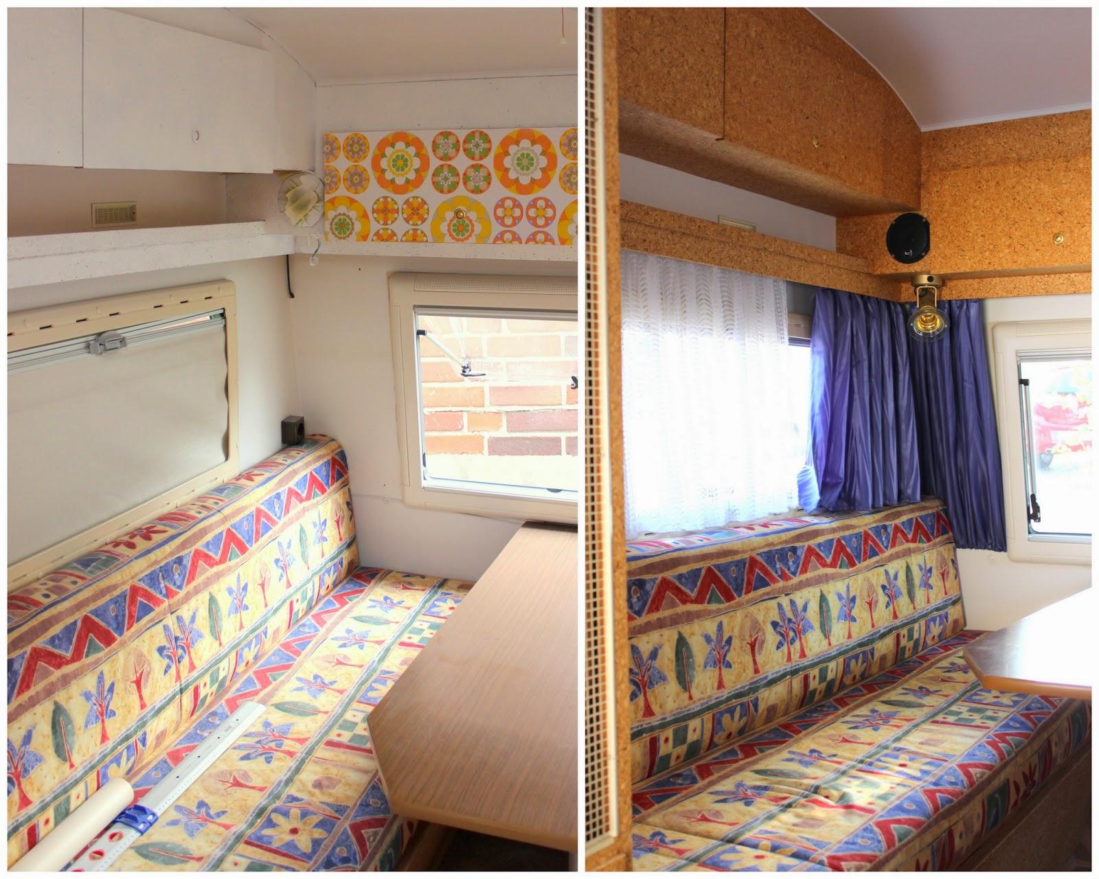 pfefferminzgruen unser wohnwagen aus den 70ern. Black Bedroom Furniture Sets. Home Design Ideas