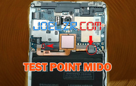 TEST POINT REDMI NOTE 4 MIDO