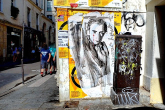 Sunday Street Art : Konny - rue Vieille du Temple - Paris 3