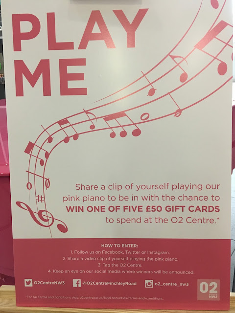 Piano competition O2 Centre Finchley