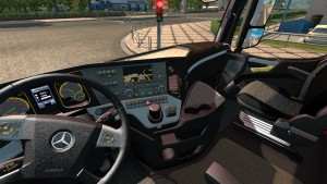 Luxury Interior for Mercedes Benz Actros