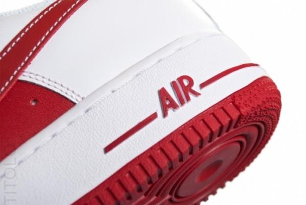économiser 7f52c 1fa95 L'actu des Sneakers: Nike Air Force 1 Low – White / Varsity Red
