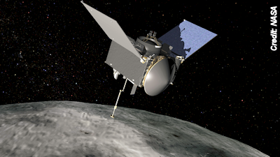 First U.S. Asteroid Sample Return Mission