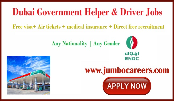 Direct free recruitment jobs in Dubai, Latest Dubai jobs for Indians,