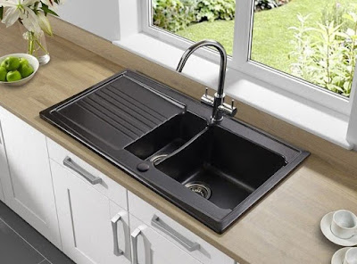 Kitchen Sinks With Drainboards