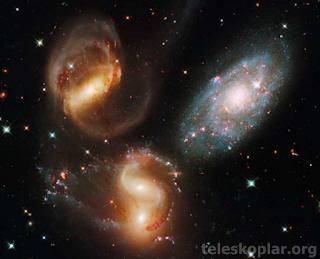 galaksilerin türleri ve şekilleri nelerdir?
