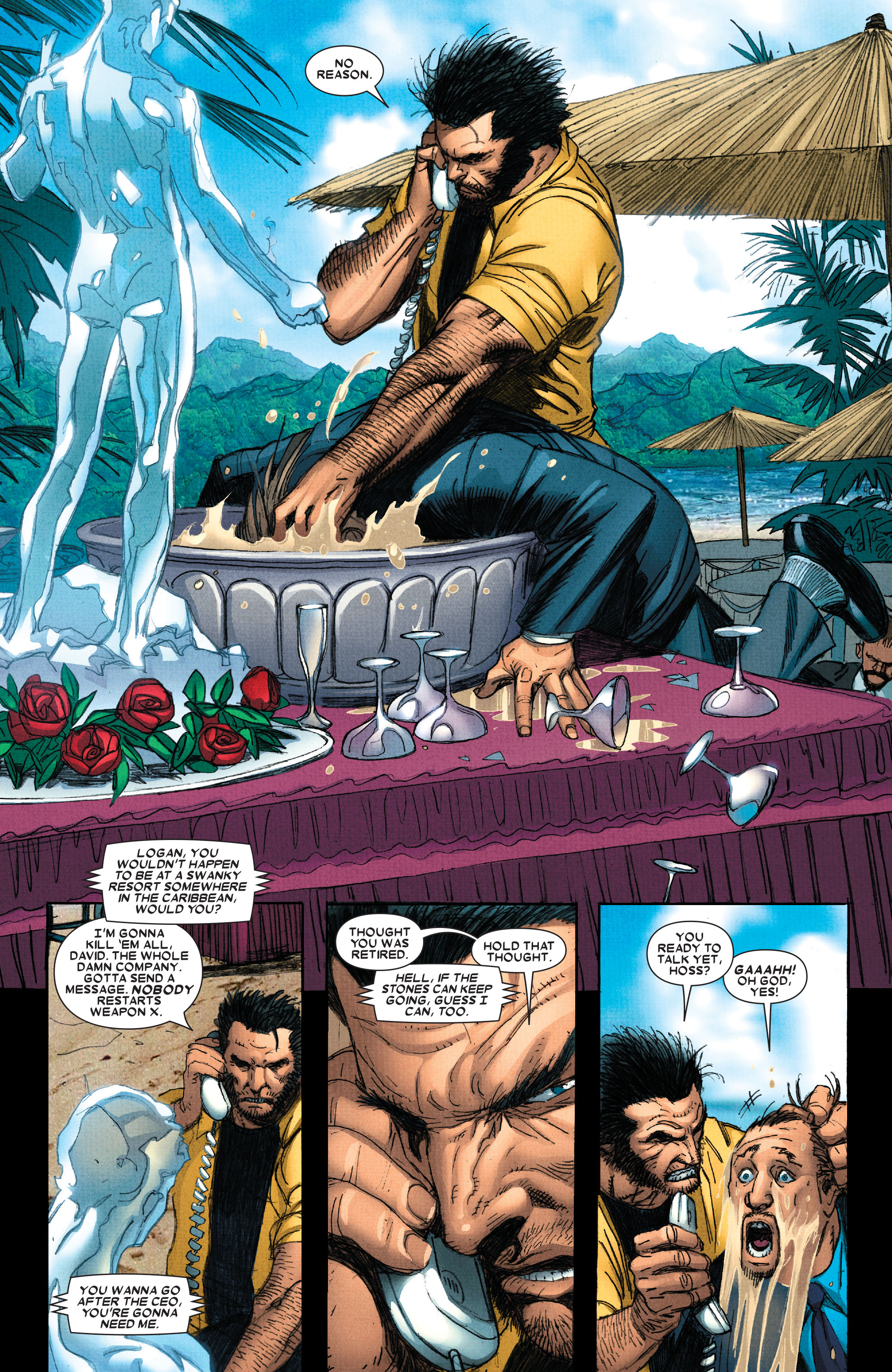 Read online Wolverine: Weapon X comic -  Issue #4 - 7