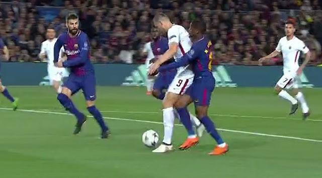 Dzeko Barca Roma
