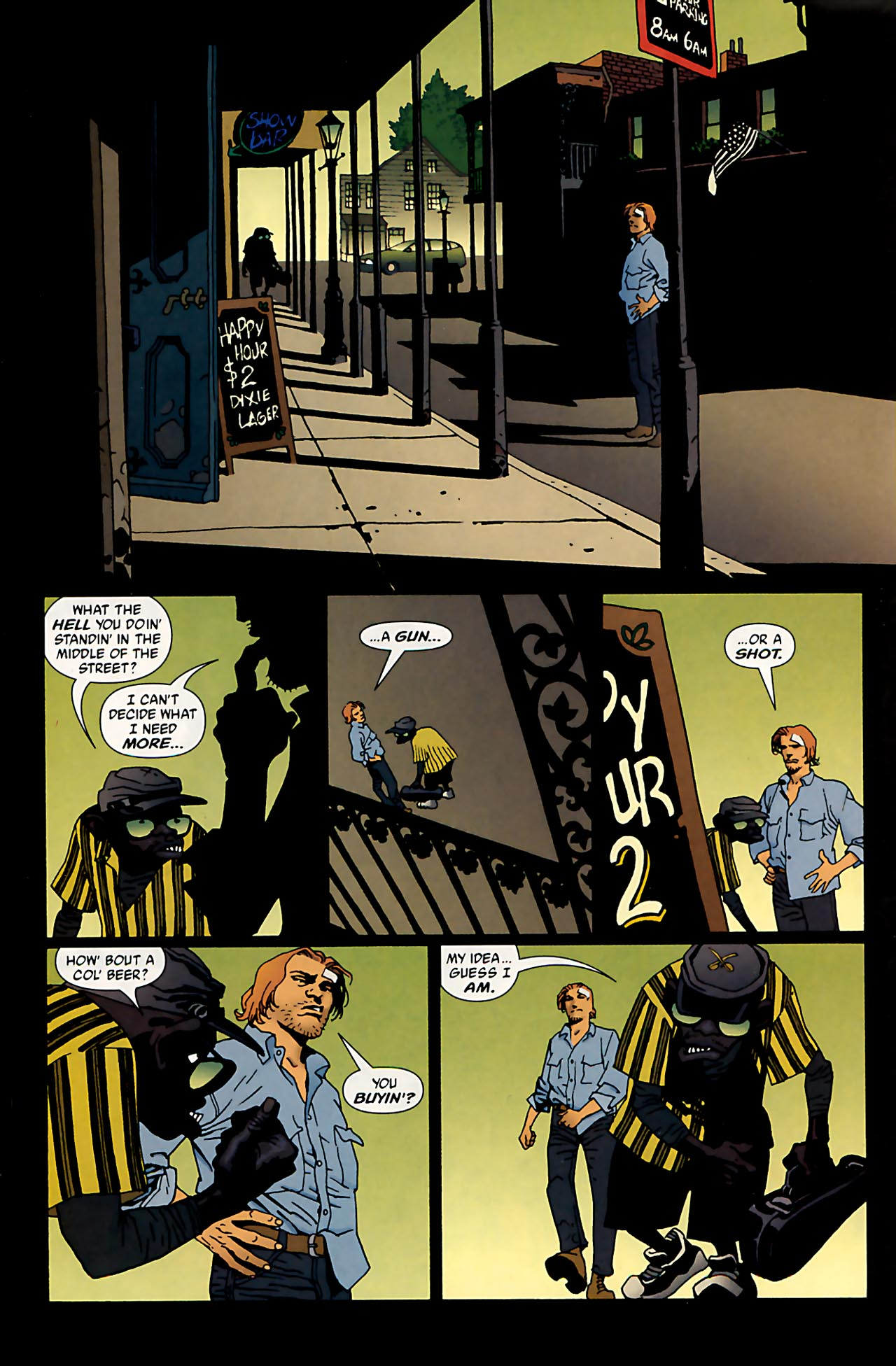 Read online 100 Bullets comic -  Issue #53 - 11
