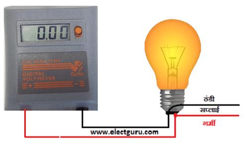 Digital voltmeter circuit diagram