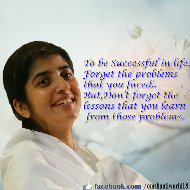 Successful in life quotes by shivani sister