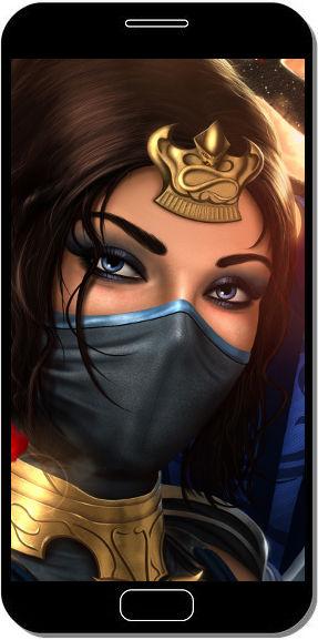 Kitana Mortal Kombat - Fond d'Écran en QHD pour Mobile