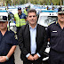 Ritondo supervisó la entrega de más de 220 móviles policiales