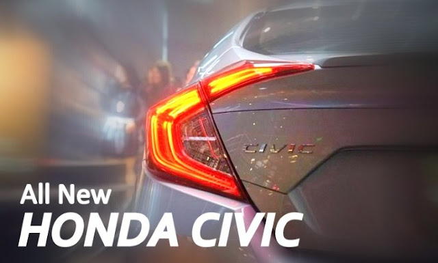 Model Honda Civic Baru 2016 Generasi ke-10