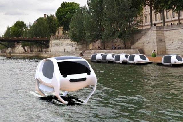 Táxi aquático inicia em maio na Suíça