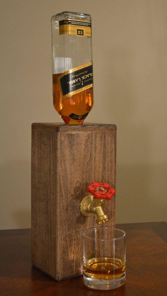 Crea tus propios dispensadores de whisky tragos y copas for Copas para whisky