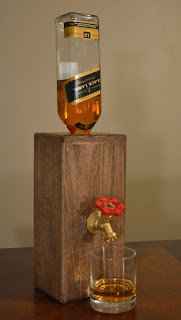 dispensador de whisky