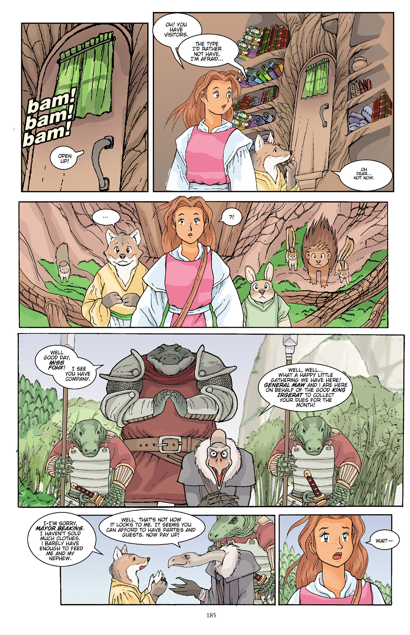 Read online Courageous Princess comic -  Issue # TPB 1 - 183
