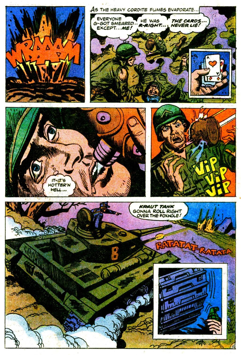 Read online Sgt. Rock comic -  Issue #313 - 26