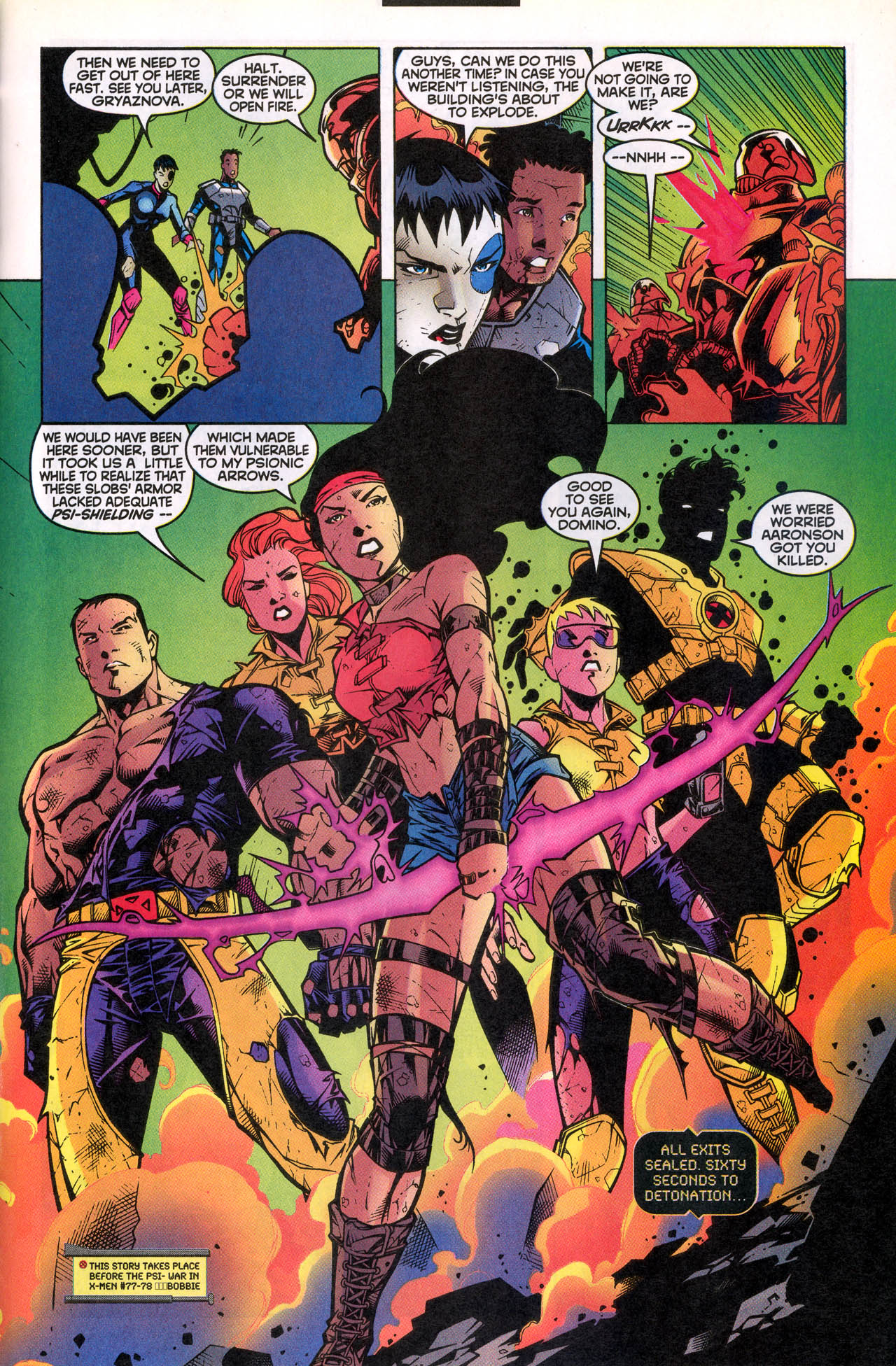 Read online X-Force (1991) comic -  Issue #82 - 35