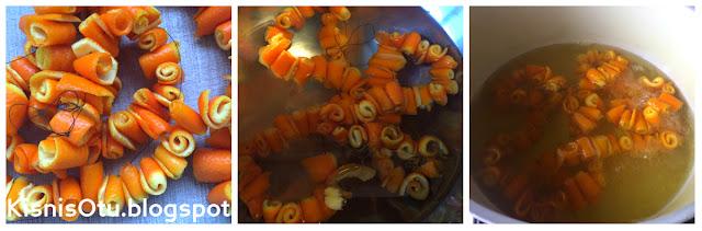 portakal, reçeli, tarifi, kolay, pratik, kış, hazırlıkları, kişniş,otu