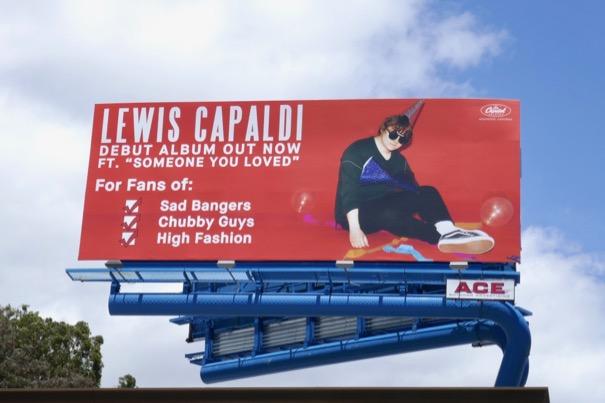 Lewis Capaldi Debut album billboard