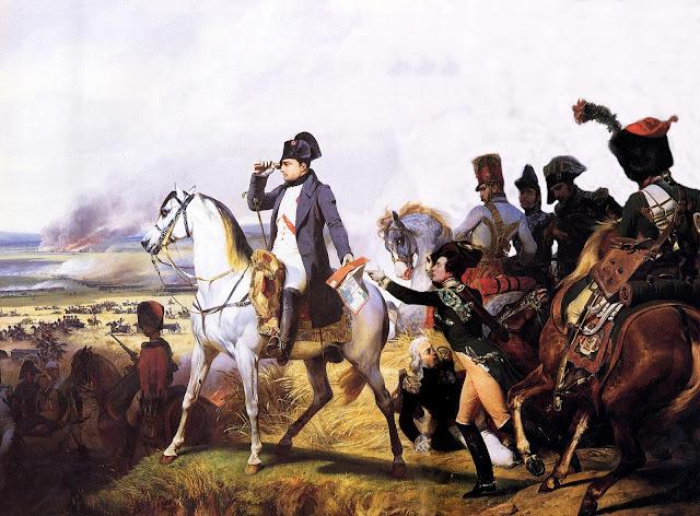 Bataille de Wagram, 6 juillet 1809, tableau d'Horace Vernet (1836)