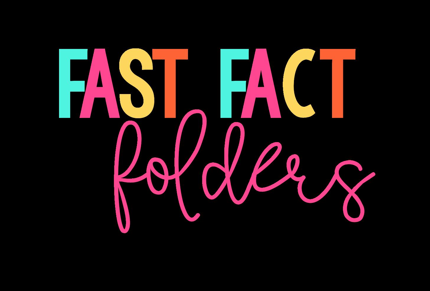 Ideas For Building Math Fact Fluency