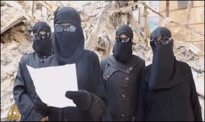 Female ISIS militants