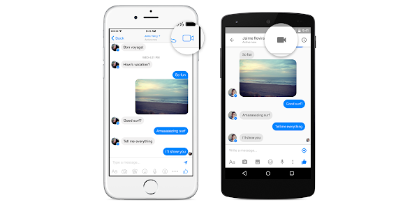 enable video call on Facebook Messenger