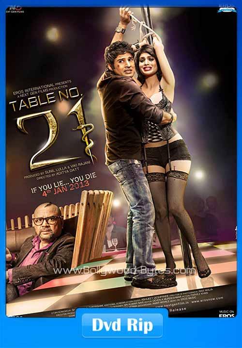 Table No 21 2013 Hindi 480p DvDrip 300MB Movie Free Download