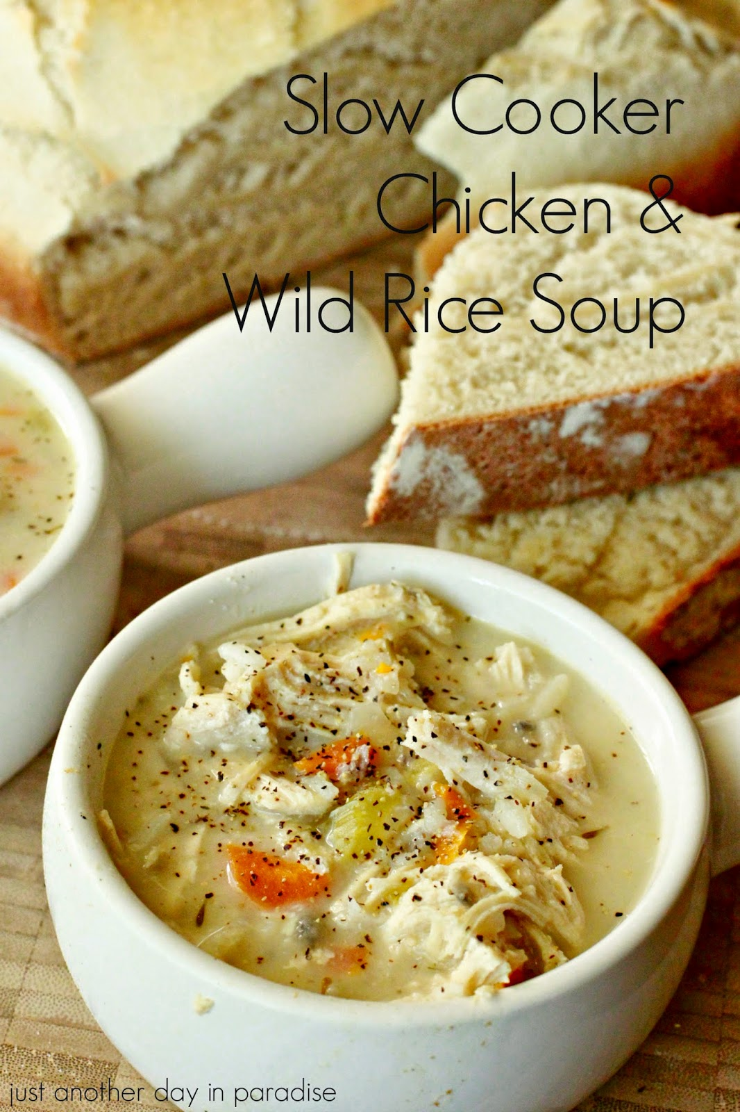 Larissa Another Day: Slow Cooker Chicken and Wild Rice Soup