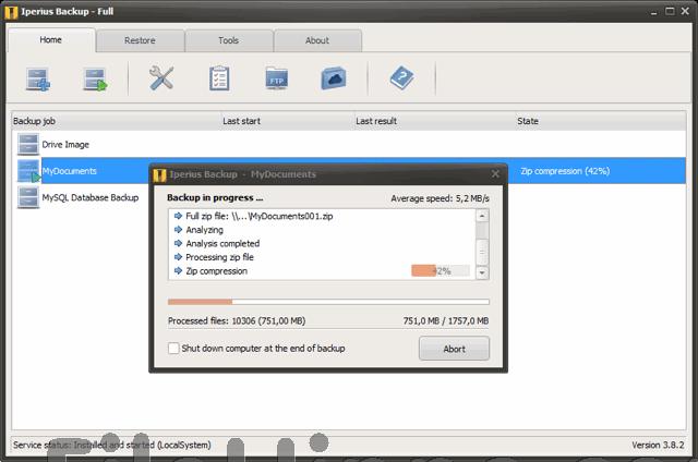 تحميل برنامج iperius backup full للنسخ الاحتياطي للملفات برابط مباشر أخر إصدار 2019 مجانا
