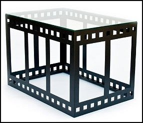 Filmstrip End Table