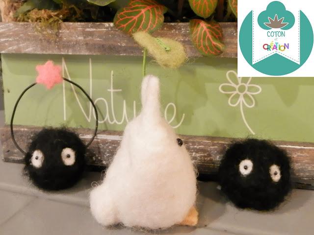 Coton et Création : laine feutrée